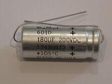 IMC axial aluminio Elko 601d condensador 180µf/200v dc 105 ° C low ESR