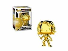Funko Pop Marvel Black Widow 380 Gold Chrome Collectible Figure AUTHENTIC Avenge