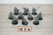 Warhammer LOTR Lord of The Rings Mirkwood Armoured Elves x 10 - LOT 974