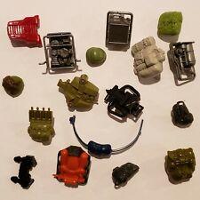 Collection Lot of 1985 G.I. Joe Cobra Arah Backpacks/Helmets Etc. You Pick