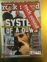 Rock Sound 31 December 2001 System Of A Down + CD New Sealed Green Day Slipknot