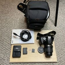 Nikon D5200 24.1 Mp Digital Camera with Bag and Accessories