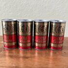 *LOT* STEEL VINTAGE Pull Tab Beer Cans, Famous Flavor Old German Gold