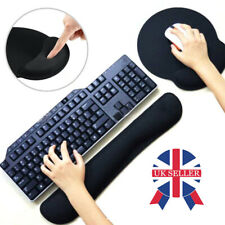 More details for non-slip keyboard wrist rest pad mouse gel mat support cushion memory foam