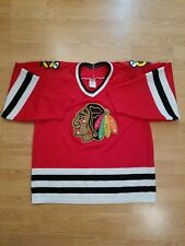Chicago Blackhawks Authentic CCM NHL Hockey Jersey Vintage 90s Mens Size Large