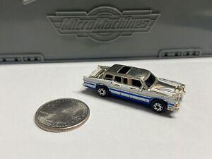 Micro Machines Classy Chromers Shiny LIMOUSINE limo 1989 Galoob
