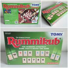 Tomy Rummikub Family Board Game 1995 The Original Classic - Brand New And Sealed