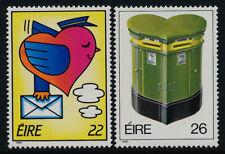 Ireland 653-4 MNH Love, Heart, Mailbox
