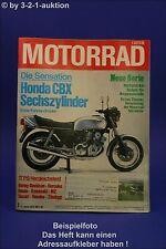 Motorrad 12/78 BMW R 45/65 Honda CB 400 Harley-Davidson