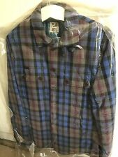 Paul Smith Quilted Waterproof Jacket, Size S, Blue Check