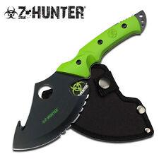 "Z-Hunter Axe Black Knife Zb-047 10"" overall. Axe head features 4 7/8"""