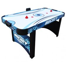 """Hathaway Enforcer 66"""" Air Hockey Table Game Includes Strikers and Pucks"""