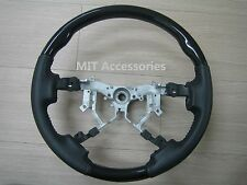 Toyota TUNDRA 2nd Gen. 2007-2013 Black Piano genuine leather steering wheel