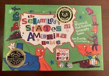 The Scrambled States Of America Geography Game By Gamewright Sealed Educational