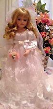 Porcelain Bridal Doll