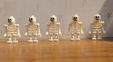 Lot of lego skeleton mini figs castle figure men people