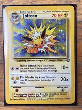 Jolteon 4/64 Pokemon Card Jungle Holo Foil Rare