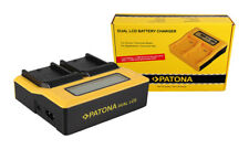Caricabatteria rapido DUAL LCD per Sony CCD-TRV215,CCD-TRV228,CCD-TRV238