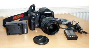 PENTAX K K-r 12.4MP Digital SLR Camera with DAL 18-55mm Lens Kit - Black
