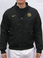 New Nike TOTAL 90 FOOTBALL Tracksuit Jacket Black  and Gold Adults Small