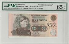 2006 Scotland Clydesdale Commemorative notes  OOO888 PMG65 Gem-Unc EPQ