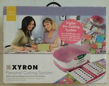 XYRON Personal Digital Die Cutting System w/ Bonus Pack NEW