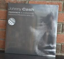 JOHNNY CASH - Presents a Concert Behind Prison Walls Ltd 2LP GREY VINYL Gatefold