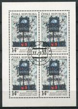 République tchèque 1993 Mi. 5 Mini Feuille 100% oblitéré Europa Cept