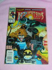 Midnight Sons Unlimited #3 (Oct 1993, Marvel) Ghost Rider Spiderman
