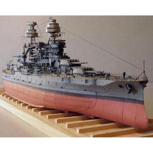 3D DIY Papier Modell 1: 250 USS Arizona Schlachtschiff Imperial Japanese Navy*DE