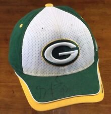 Green Bay Packers cap hat Gilbert Brown signed NFL authentic one size fits all