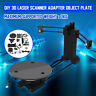 AU Open Source 3D Laser Scanner Adapter Object Plate For Ciclop 3D Printer