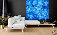 Large  Art Aboriginal inspired  Painting Abstract dreampools by jane crawford