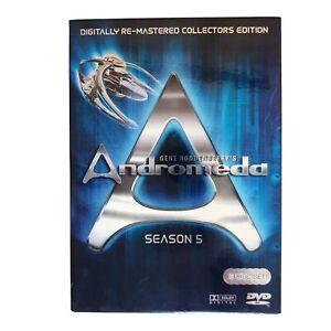 Gene Roddenberrys Andromeda Season 5 TV Series DVD Region 4 AUS - Action Scifi