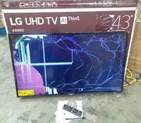 LG RA50473 43 in. 2160P 4k Ultra HD Smart LED TV - BROKEN