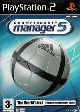Championship Manager 5 PS2 (PlayStation 2) - Free Postage - UK Seller