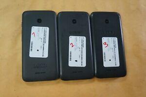 ALCATEL PIXI AVION A570BL 16GB Black TRACFONE (PLEASE READ) lot of 3