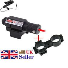 Red Dot Laser Sight Scope&Rail Mount For Pistol Airsoft Hunting Mount UK