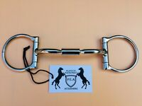 STUBBEN 3300 Galway GOLD//SILVER Metal Fancy Buckle Padded Cavesson//Flash Bridle
