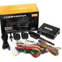 Compustar CS920-S 1-Way 1000-ft Auto Remote Car Start & Keyless Entry Kit
