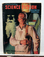 April 1951 ASTOUNDING SCI-FI Digest Pulp Magazine-H Beam Piper/Dianetics Ad