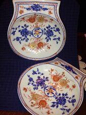 Mottahedeh Reproduction Of Chinese Imari Scroll Plates Kang Hsi Circa 1715
