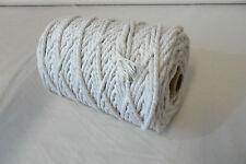 10 metros cable de tuberías 4MM Algodón Natural NO2 Tapicería Suministros Cojines De Costura