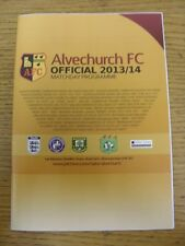 29/03/2014 Alvechurch v Walsall Wood  . Good condition unless previously stated