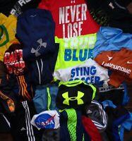 Under Armour BCG Nike Multi Lot Fitness Gym Pants T Shirt Shorts Hoodie Boys M