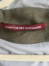 Comptoir des Cotonniers Coton Parka tulle-Couleur NEUF Olive-UE petite/FR 36