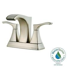 "Pfister Venturi Brushed Nick 4"" Centerset 2-Handle Bath Faucet LF-048-VNKK"