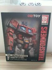 Ori Toy Transformers Hero of Steel Optimus Prime Action Figure First Edition