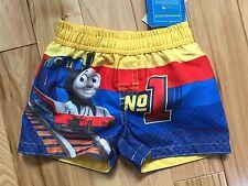 NWT THOMAS THE TRAIN Swimtrunks Sz 3-6 Month Infant Boy UPF 50+