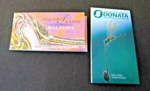Malaysia 2000 Dragonflies and Boats Stamp Books complete